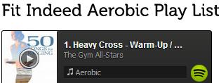 Aerobic Play List